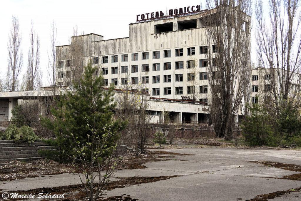 verlassenenes Hotel in Prypjat