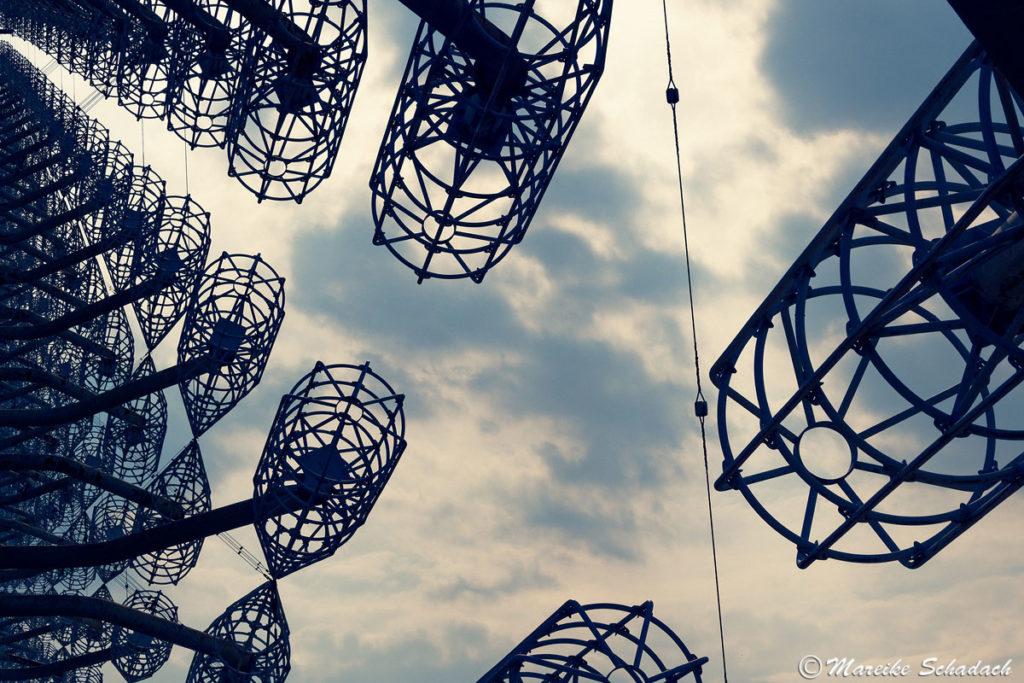 Ein weiteres beliebtes Motiv zum Fotografieren in Tschernobyl: Radarstation DUGA 3