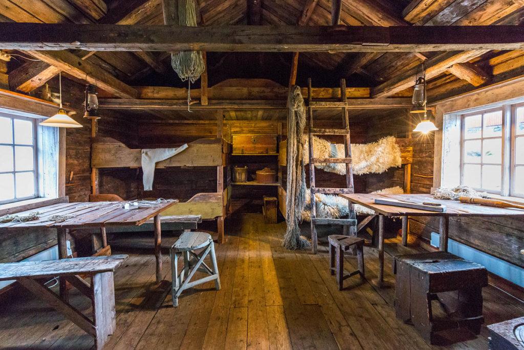 Traditionelles Rorbu, Lofotmuseet Kabelvåg