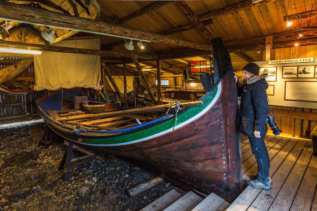Nordlandboot, Lofotmuseet. Foto: Dr. Till Pasquay