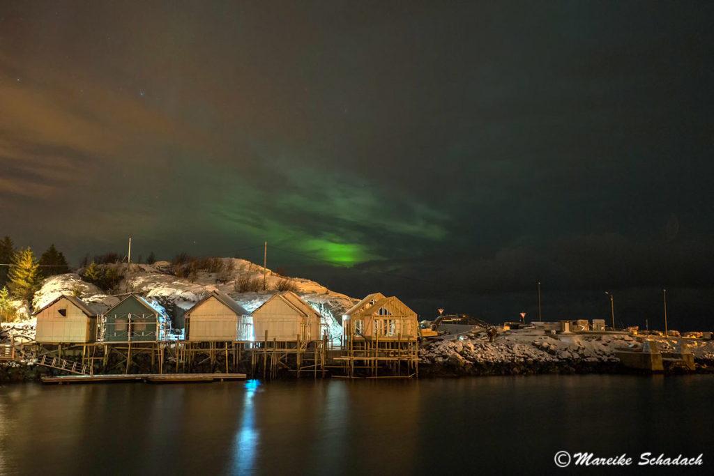Aurora Borealis über den Lofoten