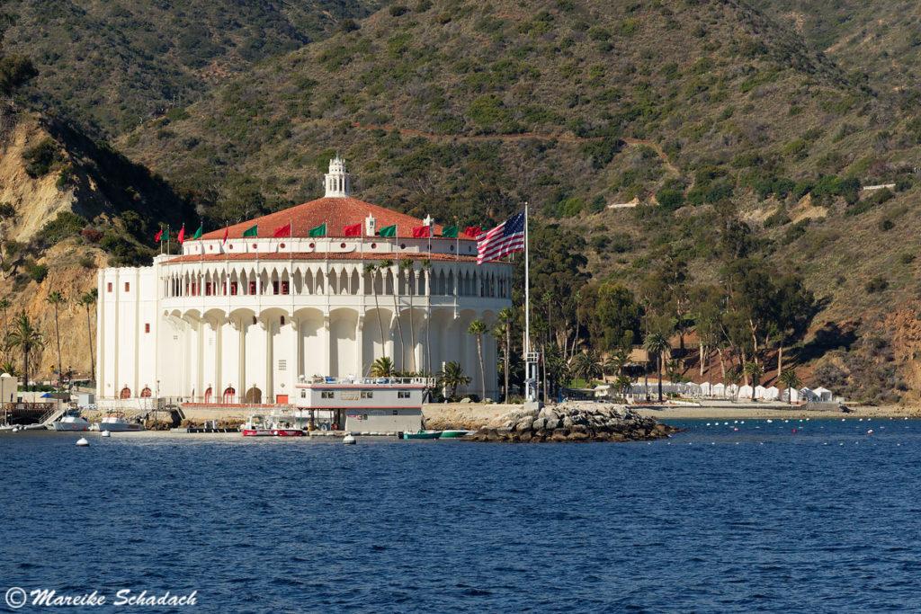 Das Casino Catalina in toller Lage direkt am Wasser ist absolut sehenswert