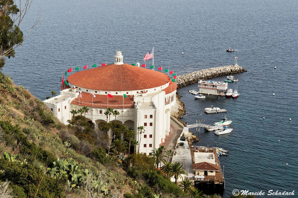 Das Casino Catalina ist das Wahrzeichen und ein Highlight der Insel
