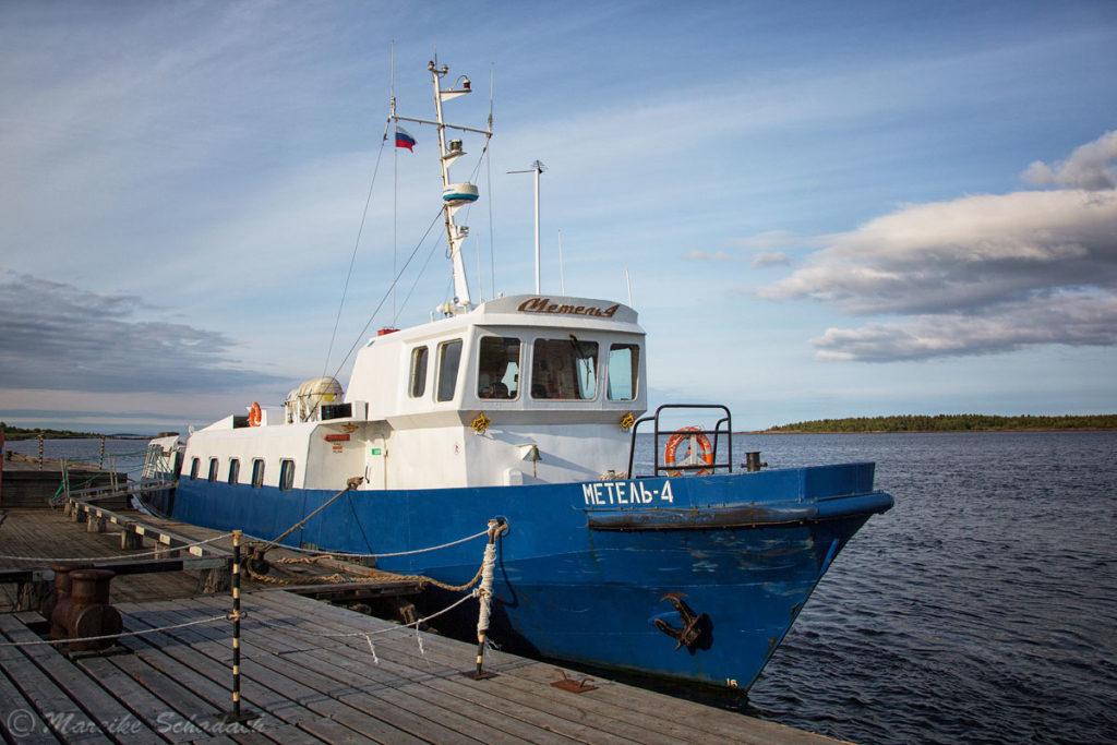Schiff Metel-4 - Solowezki-Inseln - Reisetipps