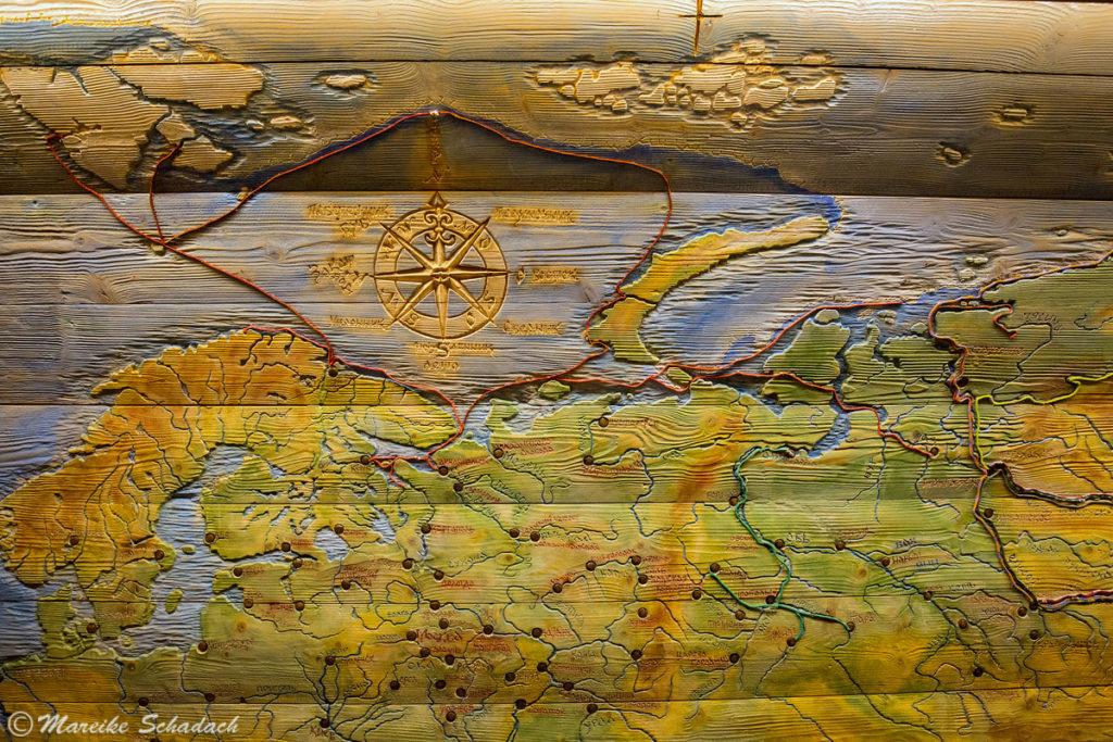 Solowezki-Inseln als Ausgangspunkt für Expeditionen in die Arktis