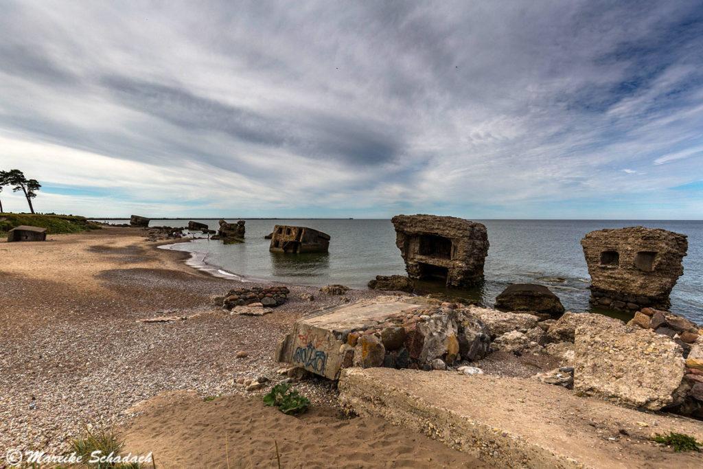 Die Bunker des Norther Forts waren eines der Highlights unseres Roadtrips im Baltikum.