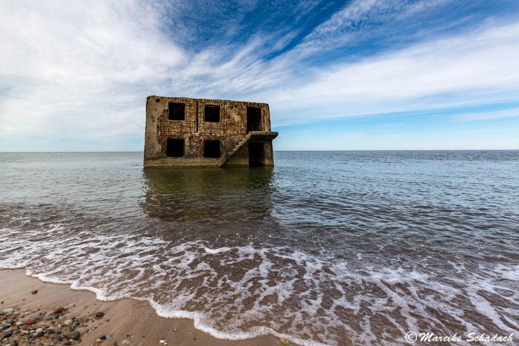 Die Besichtigung der Bunker bei Liepāja war für mich als Fan von Lost Places eines der Highlights unseres Roadtrips im Baltikum.