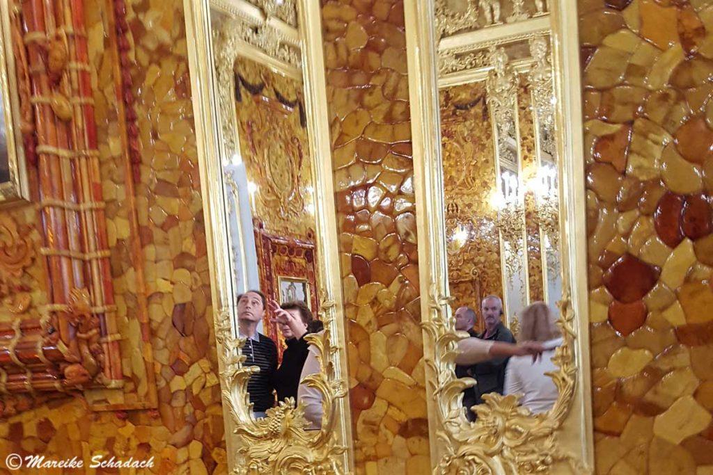 Das Bernsteinzimmer ist Highlight Nummer acht unseres Roadtrips Russland & Baltikum.