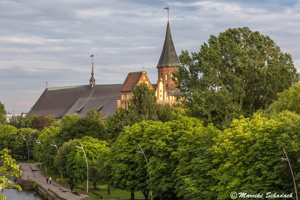 der Königsberger Dom war eines der Highlights unseres Roadtrips im Baltikum.