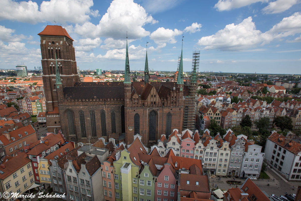 Die Marienkirche in Danzig war eines der Highlights unseres Roadtrips im Baltikum.