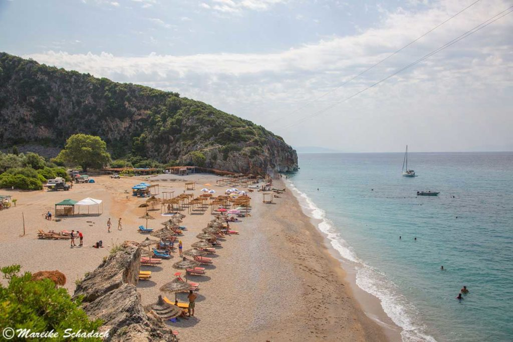 Strand in Gjipe
