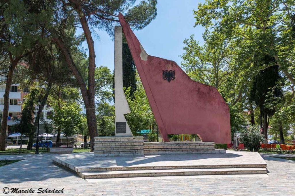 Lapidar in Albanien