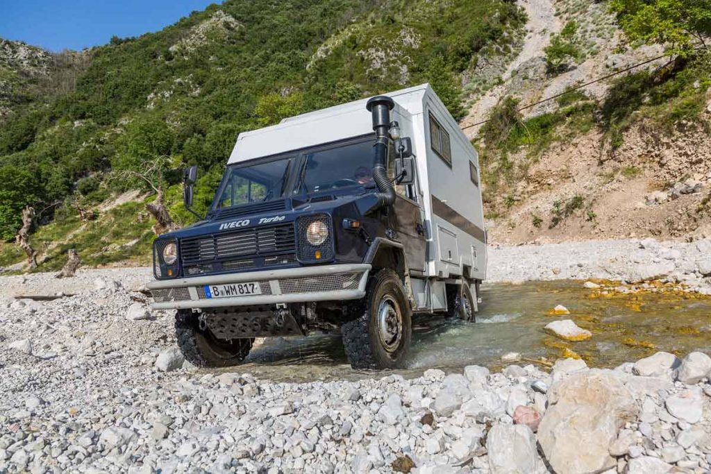 Die Furten waren ein Highlight während unseres Roadtrips in Albanien