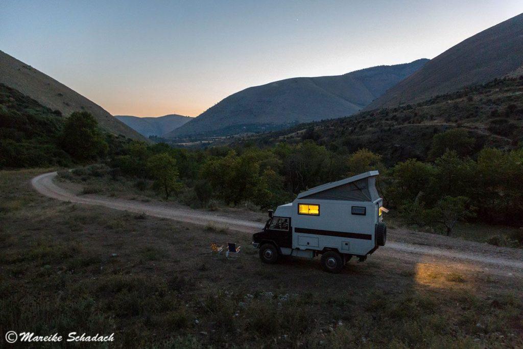 Roadtrip in Albanien - fast jeder Stellplatz für die Nacht war ein Highlight