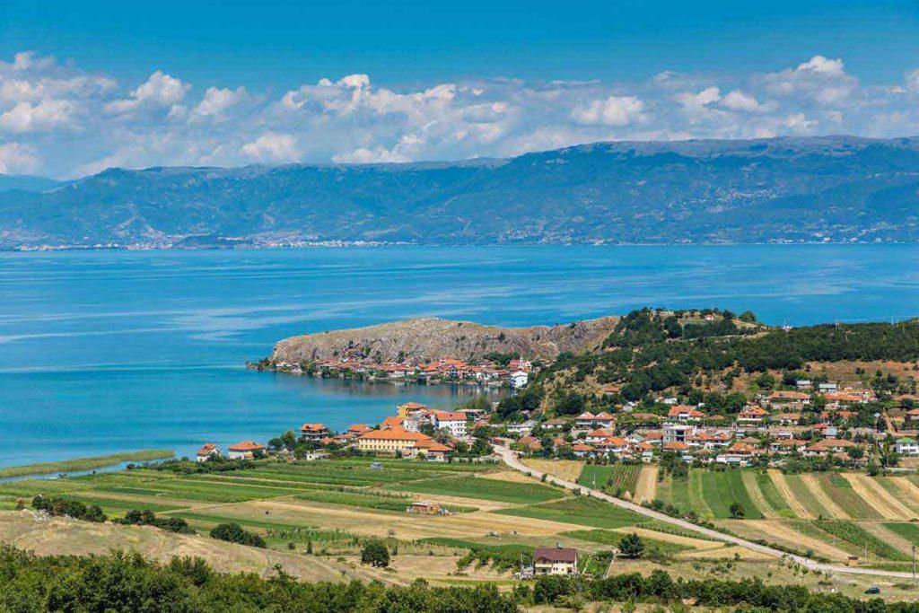 Der Ohridsee war ein Highlight während unsers Roadtrips in Albanien.