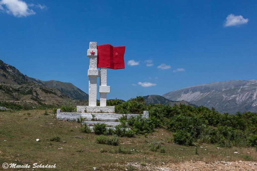 Lapidar in Albanien - auch ein Highlight unsers Roadtrips