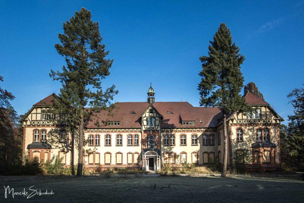 Lost Place - die Lungenheilstätte Beelitz im Süden von Berlin