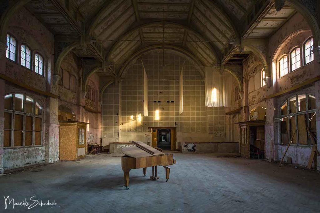 Das Whitney Houston Haus in den Beelitz-Heilstätten ist ein verlassener Ort in Brandenburg