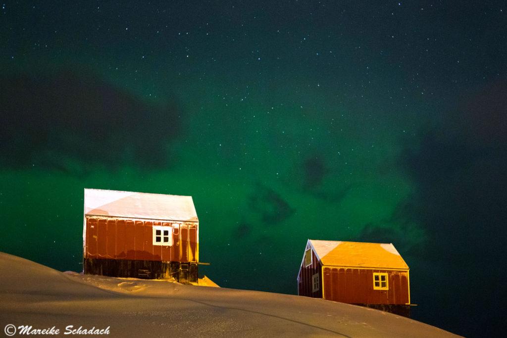 Polarlicht in Grönland