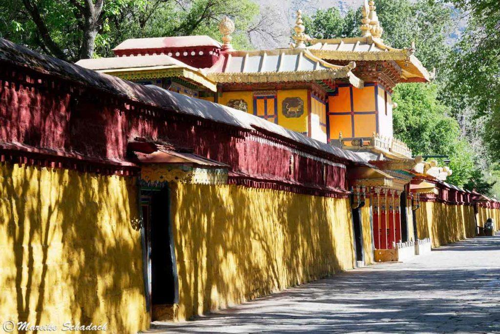 Außenansicht Norbulingka Palast