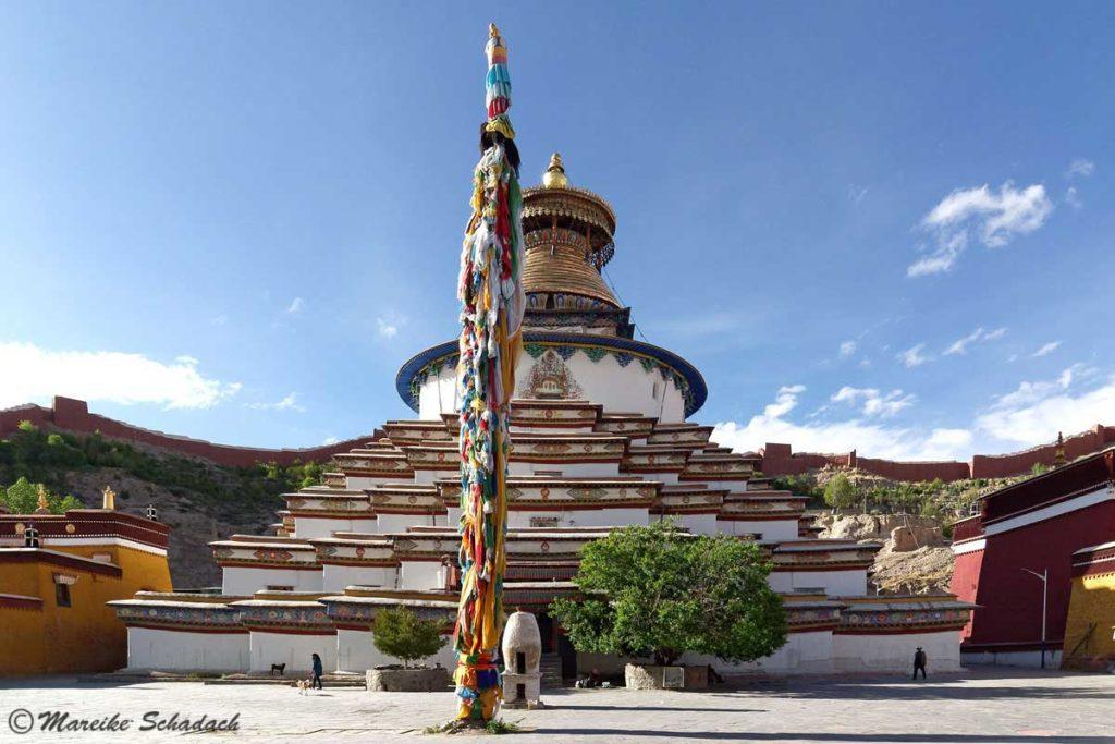 Kumbum des Pelkor Chode Klosters