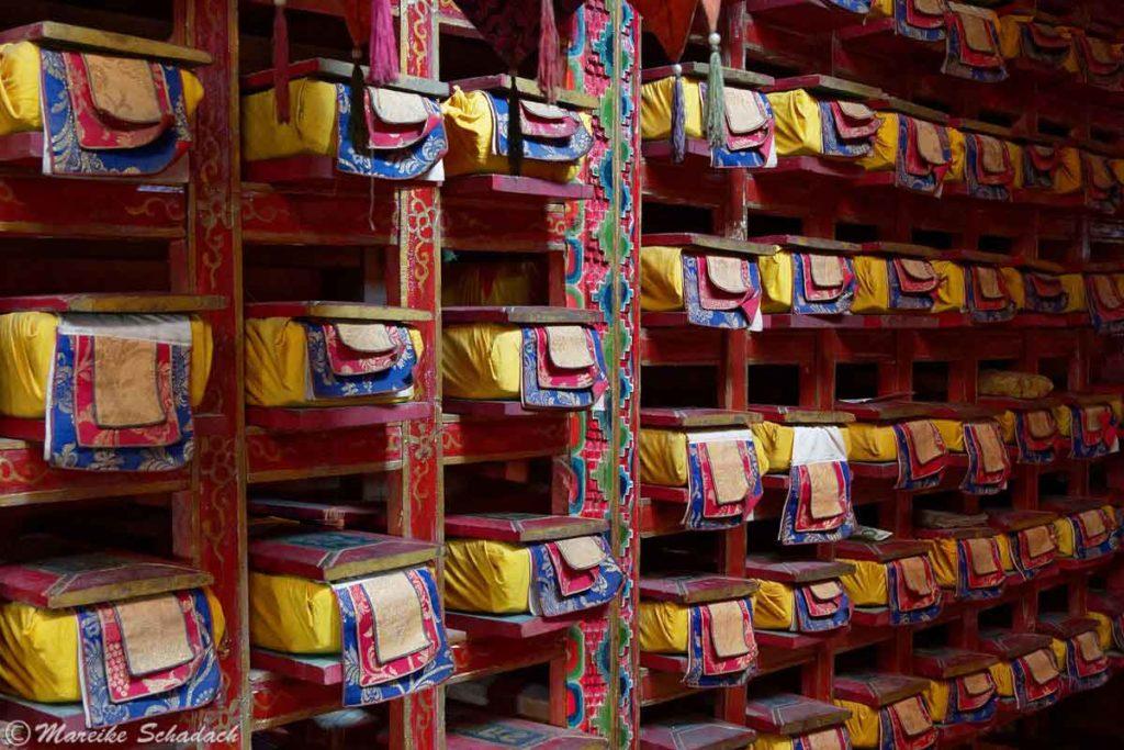 Bibliothek im Chiu Kloster