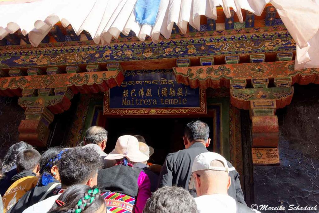 Der Maitreyatempel im Tashilhunpo Kloster