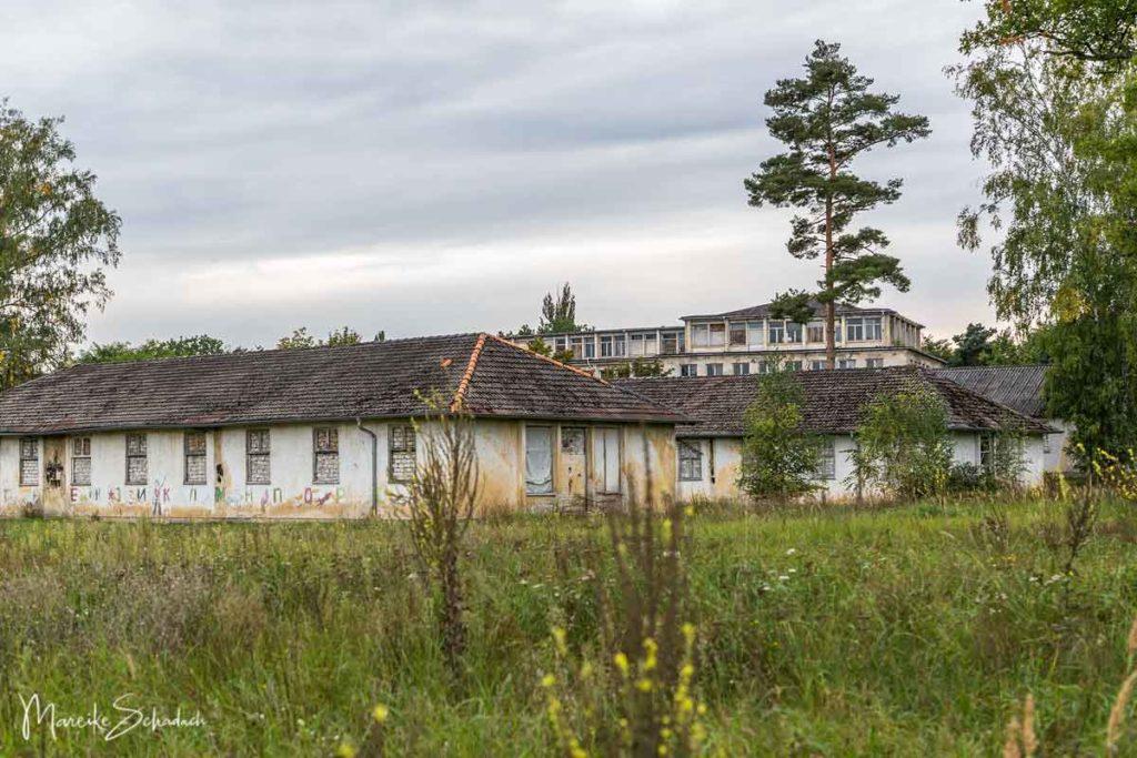 Verlassene Orte: die Sportlerquartiere im Olympischen Dorf