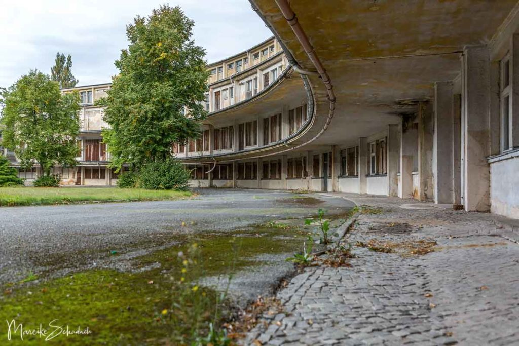 Speisehaus der Nationen im Olympischen Dorf bei Berlin