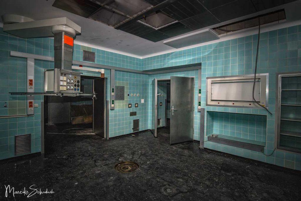 OP-Raum im Stasikrankenhaus