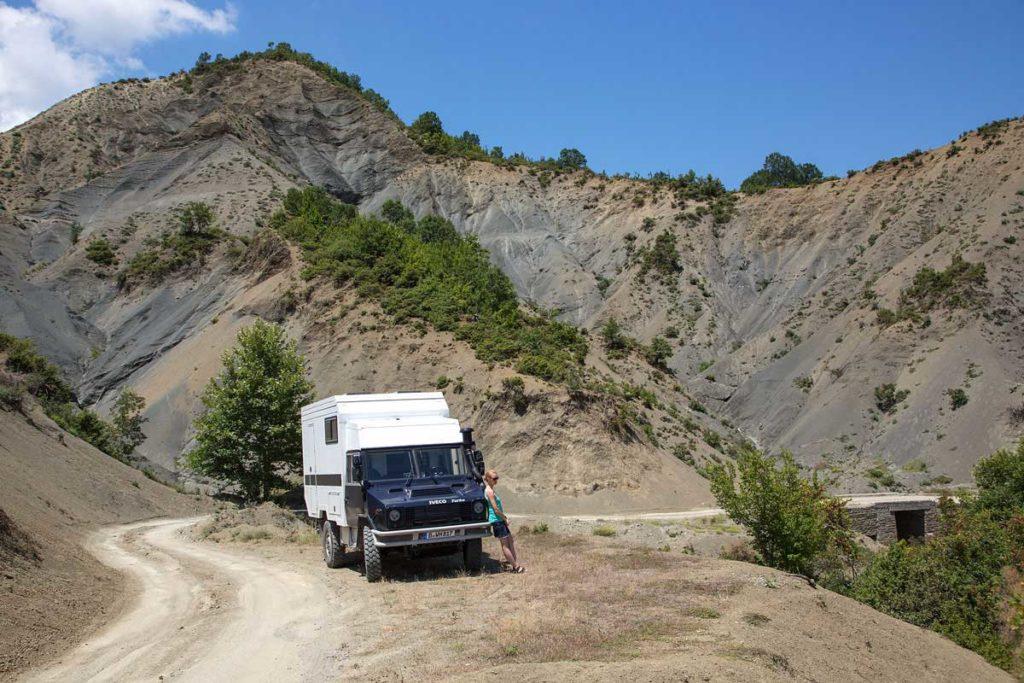 Roadtrip Albanien - Aussichten im Osum Canyon