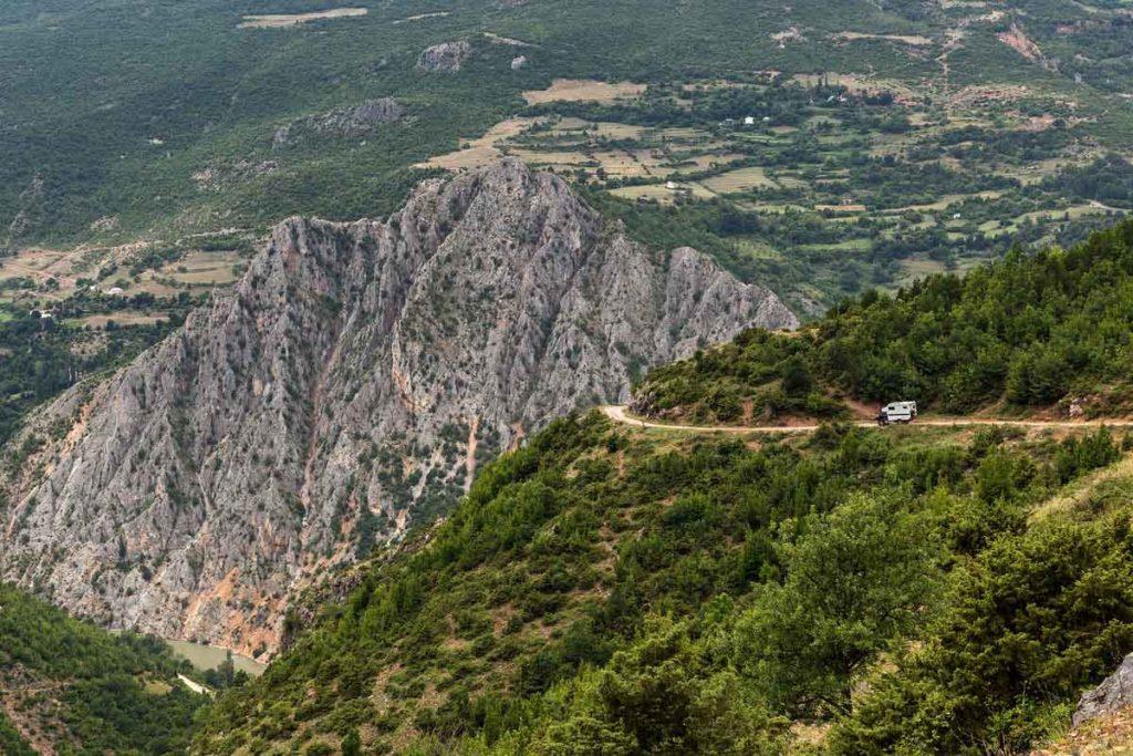 Roadtrip Schwarzer Drin in Albanien