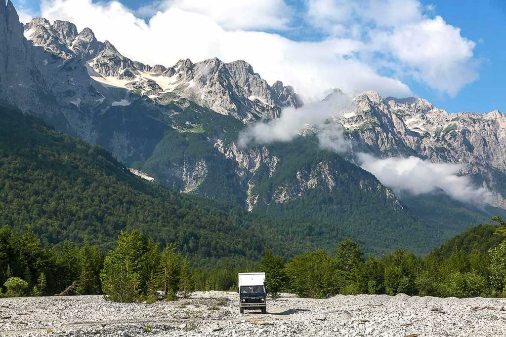 Roadtrip Albanien Valbona