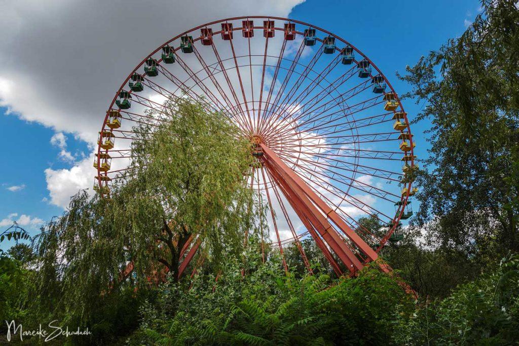 Lost Places Berlin - Riesenrad im  Spreepark