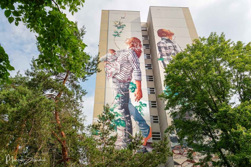 Art Park Tegel, Berlin - Fintan Magee: Circle of Life