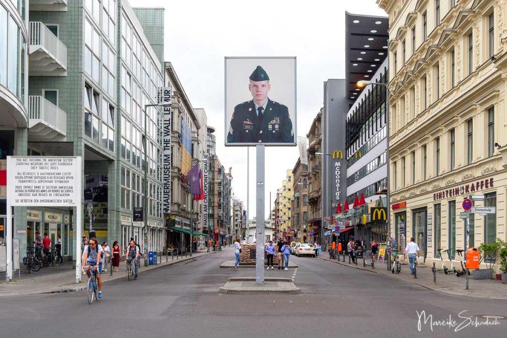 Berliner Mauerweg Highlights - Checkpoint Charly