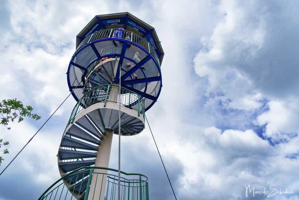 Ausflug Döberitzer Heide - Aussichtsturm auf dem ehemaligen Truppenübungsplatz