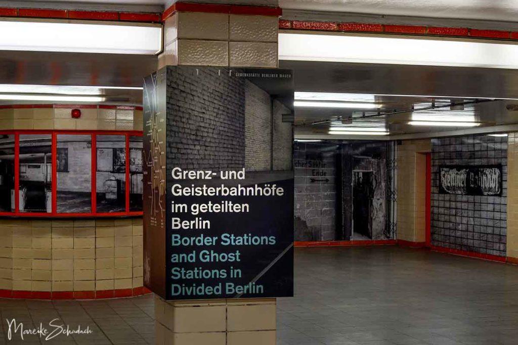 Berliner Mauerweg Highlights - Grenz- und Geisterbahnhöfe