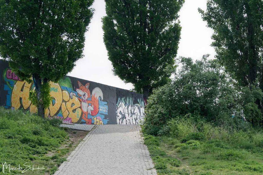 Früher Hinterlandmauer, heute Hall of Fame