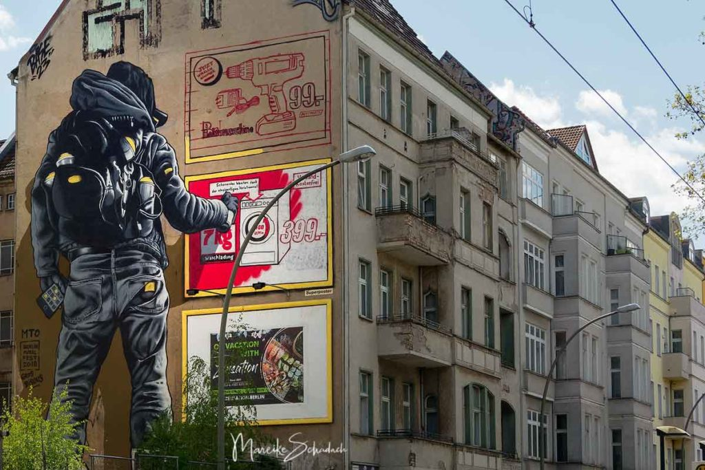 Mural MTO: There's No Such Thing As Bad Publicity - Street Art Map Berlin