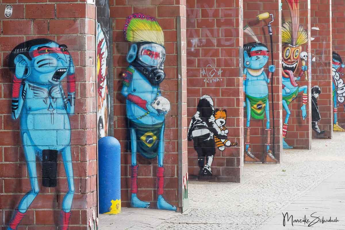 Street Art Spaziergang Bülowstraße - Kunst für alle!