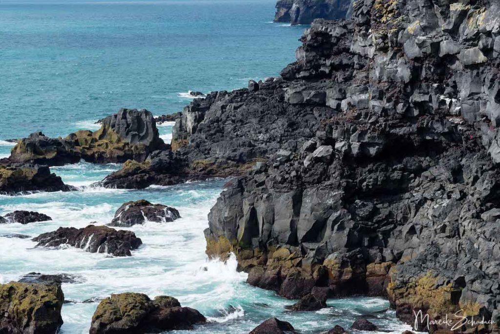 Küste Westmännerinseln - Island