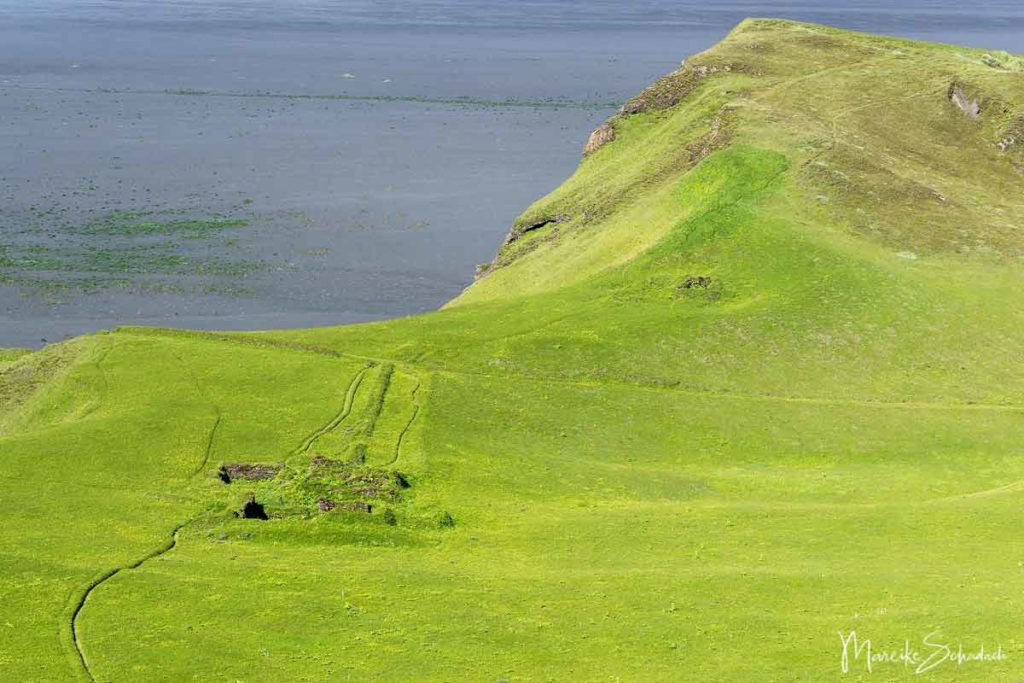 Ruinen Hjörleifshöfði Island