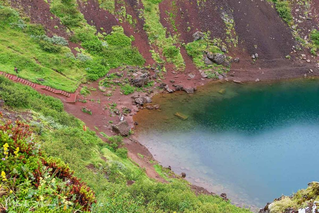 Vulkankrater Kerið Island