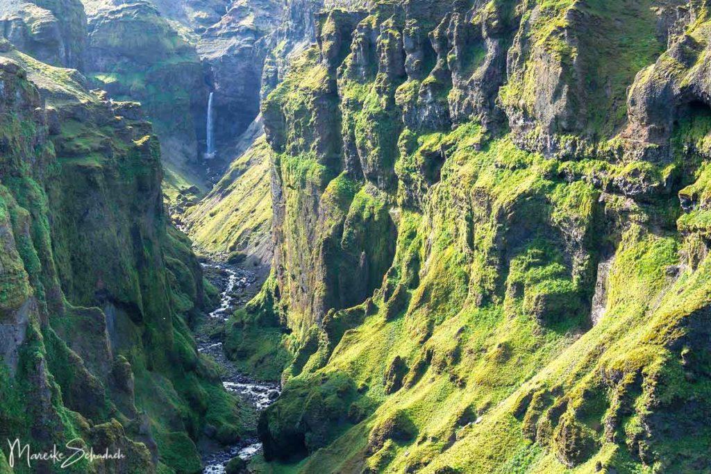 Múlagljúfur Canyon Island