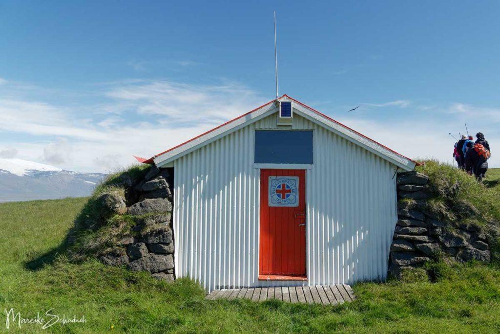 Schutzhütte bei Ingólfshöfði - Island