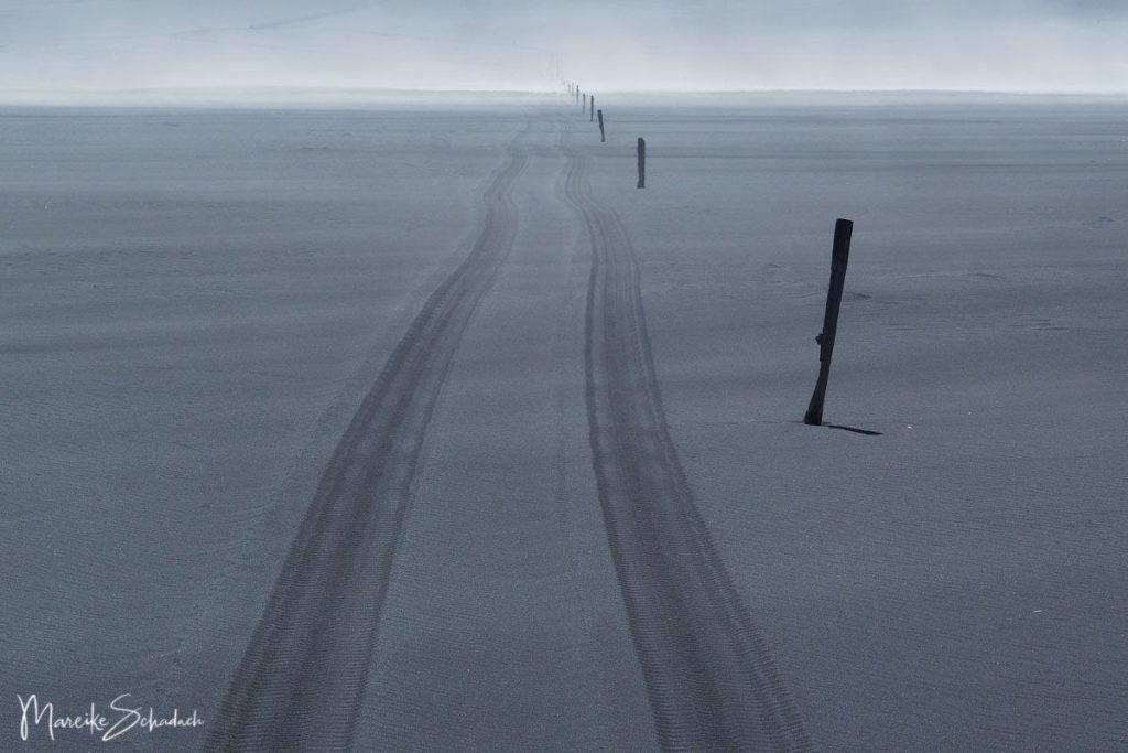 weite Sanderflächen bei Ingólfshöfði - Island