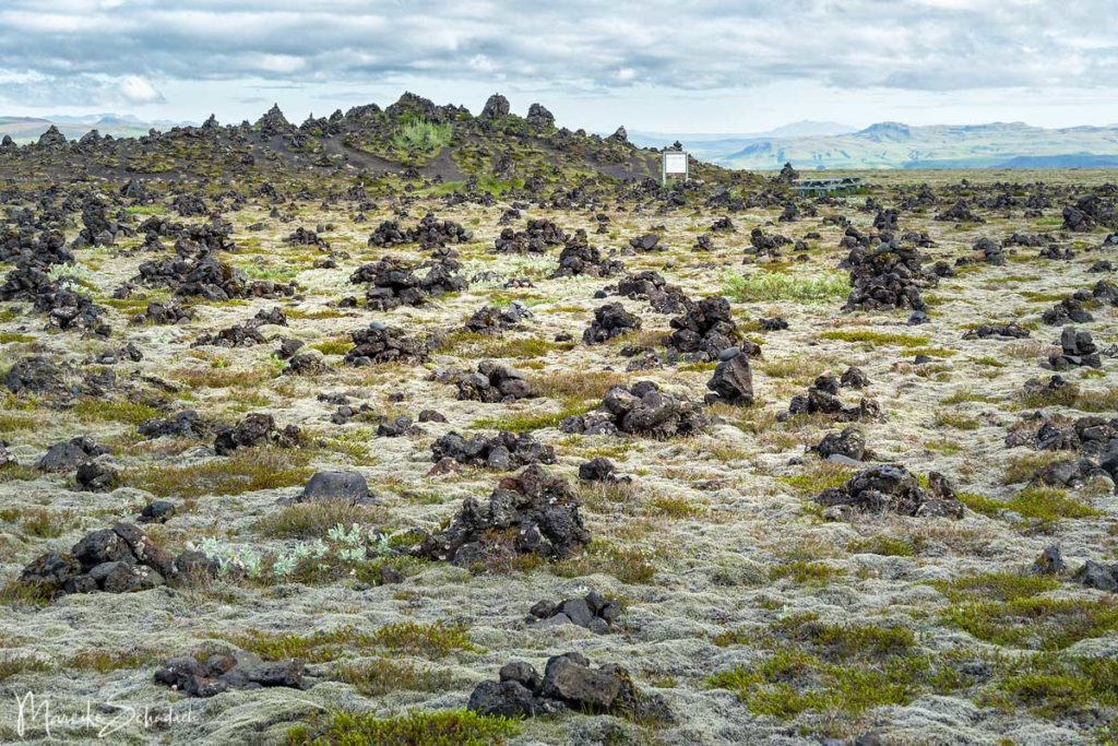 Steinmännchen als Glücksbringer – Laufskálavarða auf Island