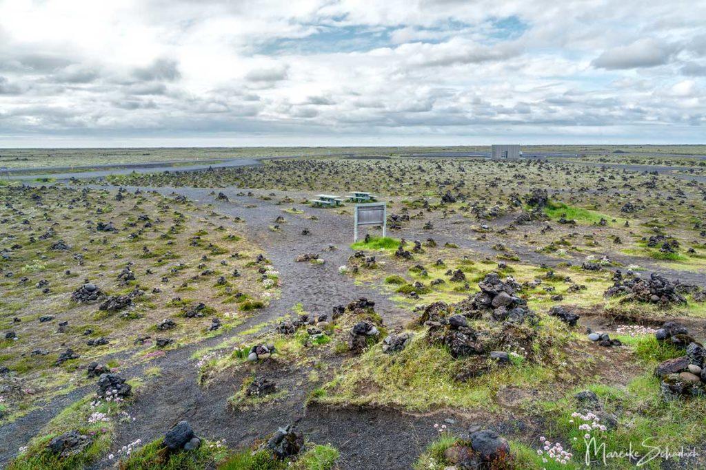 Steinmännchen in Laufskálavarða auf Island
