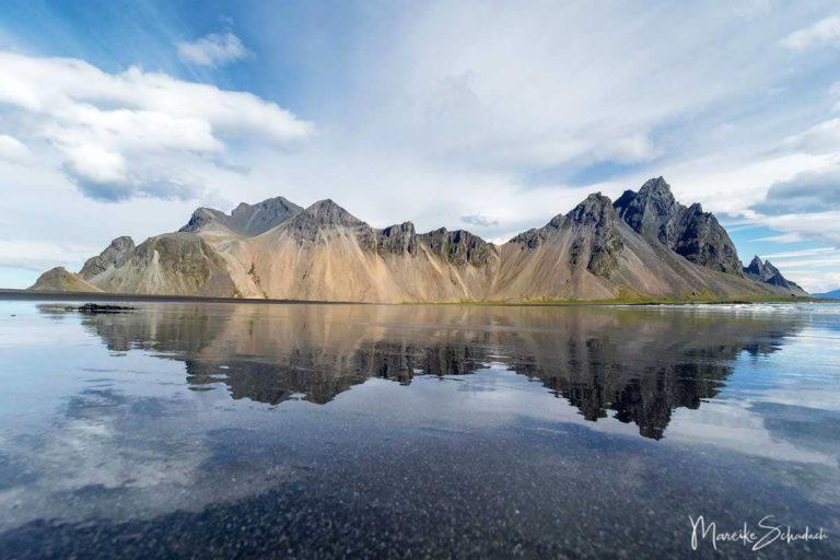 "Vestrahorn - der fotogene""Batman Berg"" in Island"